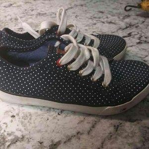 Cute Poka-Dot Girls Tommy Hilfiger Sneakers